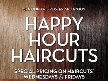 Happy Hour Haircuts