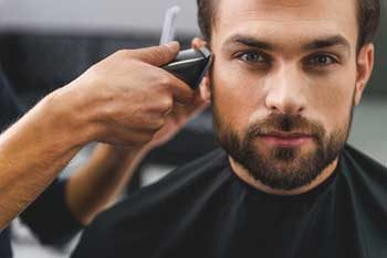 Men's cut, style & barbering at Lambert Salon in Winter Park, FL