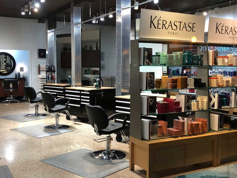 Kerastase hair care products at Gary Lambert Salon